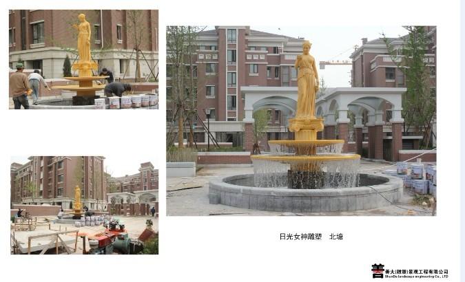 日光女神雕塑-北塘 【天津善大雕塑公司工程展示】