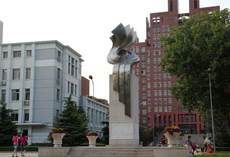 天津医科大学一甲子纪念雕塑 不锈钢雕塑工程作品展示