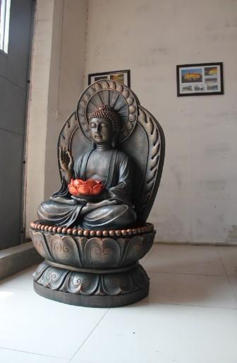 天津善大雕塑作品 铸铜佛像雕塑
